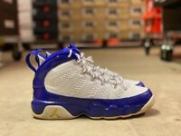 "Nike Air Jordan Retro 9 ""Kobe"" GS Basketball Shoes Blue/White 302359-121 Sz 5.5Y"