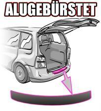 Renault Clio 3 Ladekantenschutz ab 2005-09 ALU GEBÜRSTET SCHWARZ