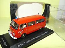 VW COMBI BUS FEUERWEHR POMPIERS ALLEMAND IXO CCC005 1:43