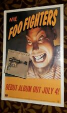 "Foo Fighters Original First Album ""Foo Fighters' Canadian Emi Promotional Poster"