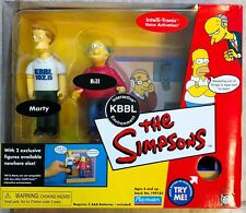 Simpsons KBBL Environment - w Exclusive Marty & Bill 2002