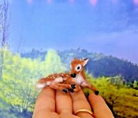BABY FAWN HANDSCULPTED OOAK 1:12 dollhouse miniature realistic SCULPTURE
