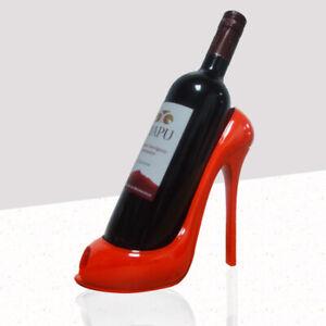 Heel Shoe Shape Wine Bottle Holder Wine Shelf  Wine Rack Kitchen Bar Accessories