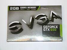 EVGA nVidia GeForce GTX 650 Grafikkarte, 2 GB GDDR5