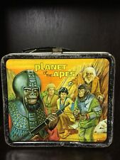 Vintage 70's Planet Of The Apes Series Lunch Box And Thermos