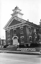 Waukon Iowa~Allamakee County Historical Society Museum~1st Court House~1960 RPPC