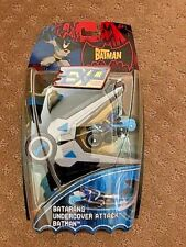 Extreme Power Batman; Batarang Undercover Attack Batman, Mattel, DC, NIP