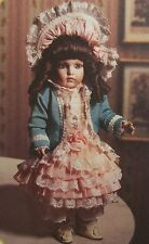 MIB 1994 FRANKLIN MINT PORCELAIN DOLL 16'' BEBE BRU SIGNED BY MARYSE NICOLE
