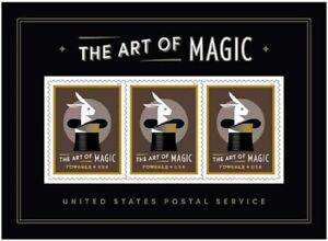 USPS SC 5306  - The Art of Magic Lenticular magic - 3D - 3 Forever stamps - MNH