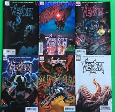 VENOM 1 2 VARIANT 3 4 5 6 ALL FIRST PRINTS DONNY CATES MARVEL COMIC LOT SET NM