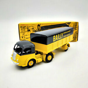 "CIJ DAN Toys 1/43 DAN-031 TRACTEUR PANHARD avec SEMI-REMORQUE ""BALLY""Diecast Car"