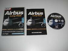 AIRBUS COLLECTION LONG HAUL Pc DVD Add-On Flight Simulator Sim 2004 X FS2004 FSX