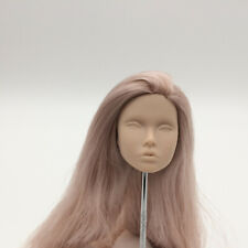 Fashion Royalty poppy parker Japan skin purple hair integrity doll blank head