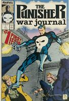 Punisher War Journal 1 Signed Jim Lee First Print Carl Potts Origin Retold NM