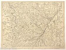 Alsazia-Baden-Württemberg-Francia - Cantelli B. ROSSI-mappa-MAP 1690