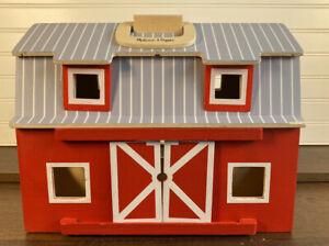 Melissa and Doug Wooden Folding Barn