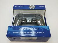 Sony PlayStation Dualshock 4 V2 Controller for PS4 - Steel Black