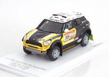 1:43 True Scale Mini Countryman All4 #305, Rally Dakar 2012 Roma/Périn