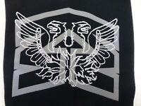 Mongoose BMX Bicycles Black Hoodie Sweat Shirt Boys Youth Medium Screen Print