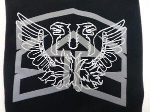 Mongoose BMX Bicycles Black Hoodie Sweat Shirt Mens Small Screen Print
