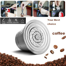 Stainless Steel Refillable Reusable Coffee Capsule Pod Cups Nescafe Filter NEW!