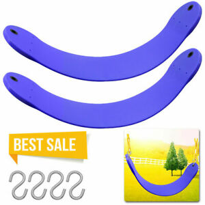 2 Pack Heavy Duty Swing Seat Swing Set Accessories Swing Seat Replacement BLUE