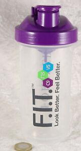 Forever living milkshake health drink plastic glass 6 inches tall