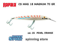 RAPALA MAGNUM CD MAG 18 CG PEARL ORANGE  70 GRAMMI  ORIGINALE