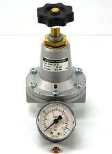 "BAUER Präzisions-Druckregler 1/4"" DRF.31S Precision Regulator + Manometer"