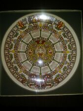 Wedgwood Queen'S Ware 1977 10 Inch Aztec Limit Ed Calendar Plate New In Box