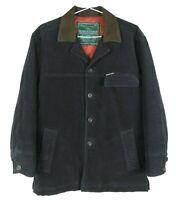 Rodd And Gunn Outdoor Classics Mens Moleskin Coat Size XS Leather Collar