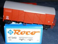 Roco 47349 H0 Gedeckter Güterwagen G- NSB Norwegen Gmh Epoche 3 selten in OVP