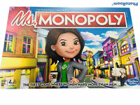 🔥 Hasbro Ms. Monopoly Board Game • Ages 8+, Brand New Factory Sealed