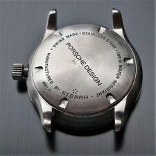 ETERNA PORSCHE DESIGN 100m 6601.41 Watch Steel Case Reloj Montre Orologio Swiss