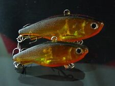 45mm 12g Soft Vibe custom UV colours mask lure Bream Bass FREE SHIPPING Gold