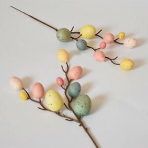 Toy Gifts Egg Tree Branches DIY Painting Hanging Ornaments Easter Decoration
