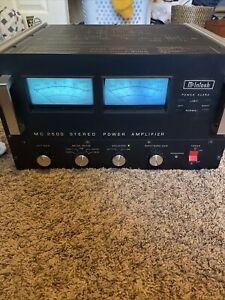 Vintage McIntosh MC2500 Stereo Amplifier Amp