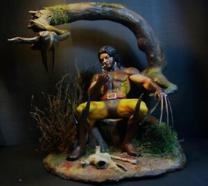 Wolverine EDINHO MAGA Brown Custom 1/6 Resin Kit Statue Very Rare Kit