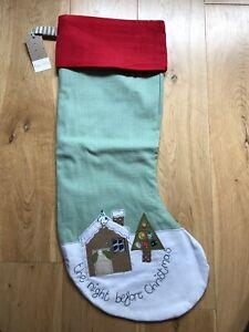 Poppy Treffry Embroidered Christmas Stocking