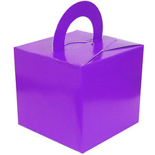 5 - 100 Helium Balloon Weight Cake Boxes Wedding Favour Birthdays Christenings