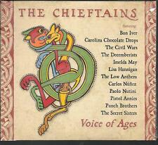 CD DIGIPACK COMPIL 15 TITRES--THE CHIEFTAINS--VOICE OF AGES--IVER/MAY/NUNEZ...