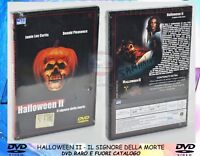 1 DVD FILM HORROR MOVIE ANNI 80,HALLOWEEN 2 IL SIGNORE DELLA MORTE MICHAEL MYERS