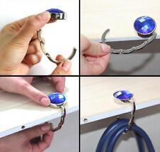 Sale Foldable Folding Table Hook Handbag Purse Tote Bag Table Hanger Holder