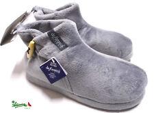 DE FONSECA pantofole ciabatte chiuse alte calde uomo Blu TRENTO Blu Grigio