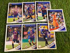 7x Panini Donruss Soccer 18/19 - Base Team Cards Set Lot FC Barcelona
