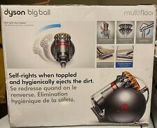 Dyson - Big Ball Canister Vacuum - Yellow/iron