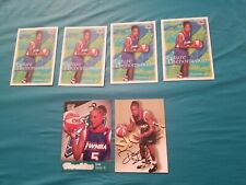 Lot of DAWN STALEY Skybox Autographics Autograph - ROOKIE CARDS