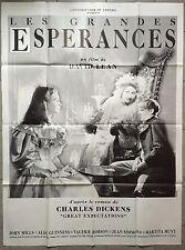Affiche LES GRANDES ESPERANCES Great Expectations JOHN MILLS David Lean 120x160*