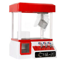 Mini Prize Claw Toy Grabber Machine Electronic Arcade Game for Kids Party Toys