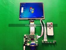 "HDMI/VGA/AV Control Driver Board + 8""inch HE080IA-01D 1024*768 IPS+LCD Display"